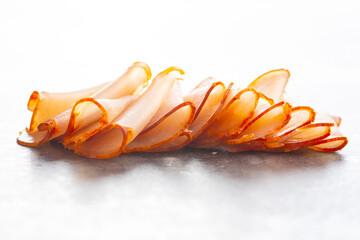 Dried spanish ham. Lomo embuchado.