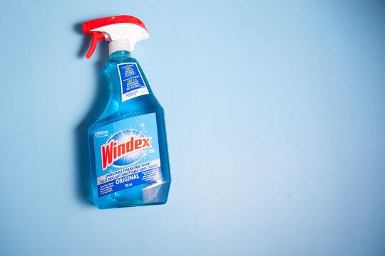 Bottle of Windex