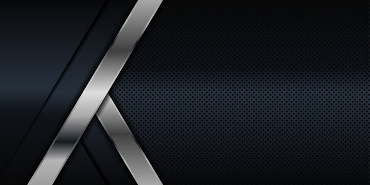 Modern silver and black dark carbon for abstract background and presentation design. Suit for corporate, cigarette, business, award, winning, anniversary and celebration