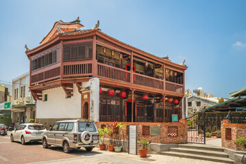 May 15, 2020: Bajiao Octagon Building is a wooden building completed in 1841 located in Yanshui, Tainan, Taiwan. It took ten year to build by the Yeh family who had made wealth in the sugar industry
