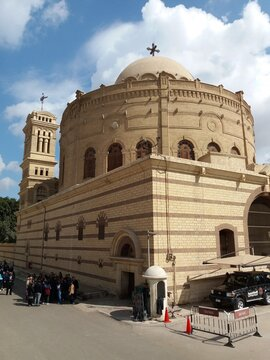 The copto church in El Cairo