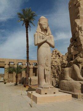 Inside the Karnak Temple, Luxor.