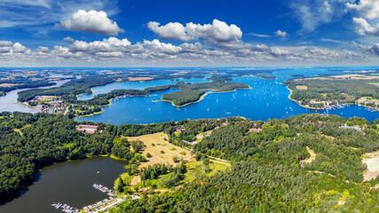 Mazury-jezioro Kisajno