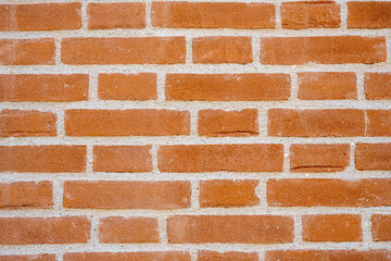 Background from an orange brick wall