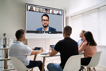 Online Video Conference Training Business Meeting