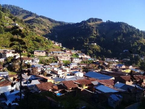 Angangueo, Pueblito de Michoacán, México