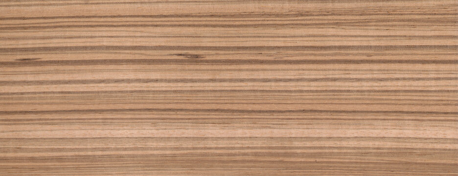 Wood Texture Zebrano Background Zebrawood