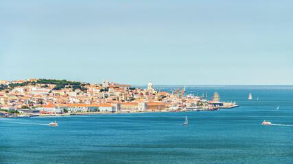 Fototapete - Lisbon city in the Daytime
