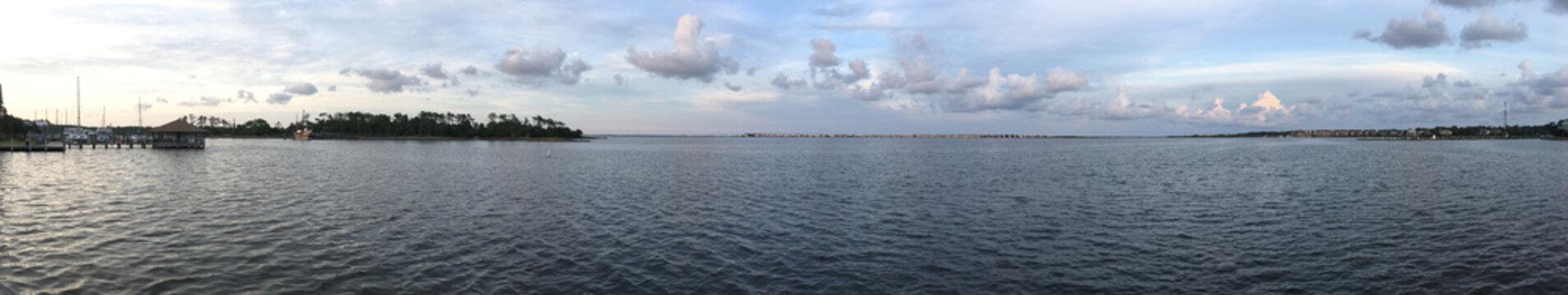 Shallowbag Bay in Manteo North Carolina