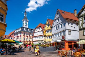 Marktplatz, Aalen, Deutschland