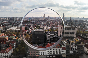 View of antwerpen