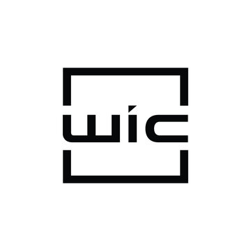 Letter WIC Logo template suitable for businesses and product names. This stylish logo design could be used for different purposes for a company, product, service or for all your ideas.