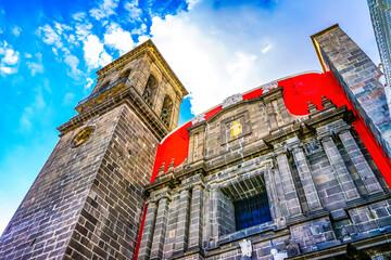Santa Domingo Church Chapel of the Rosary Puebla Mexico