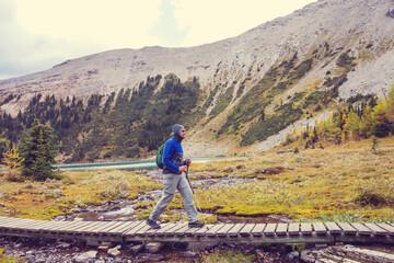 Wall Mural - Hike in Canada