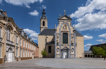 Fotomurales - Baroque church at the Abbey in Averbode, Belgium
