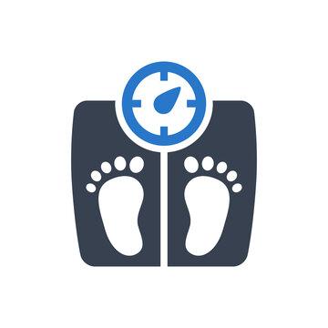 Weight management icon
