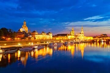 Panorama von Dresden, Deutschland