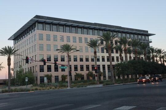 Building in Summerlin City Center