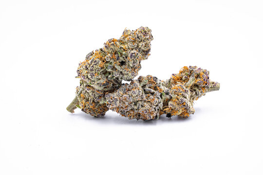 Cannabis Marijuana taken in white background