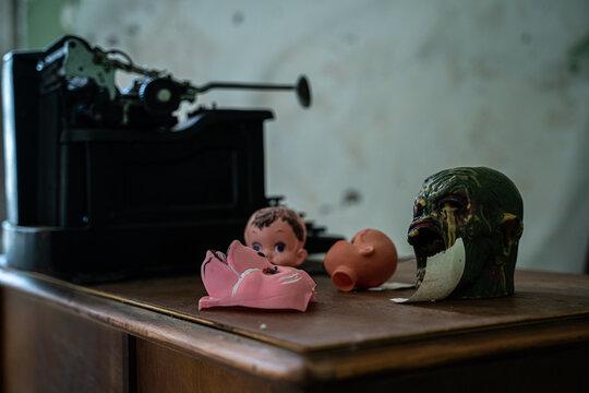 Spooky Desk
