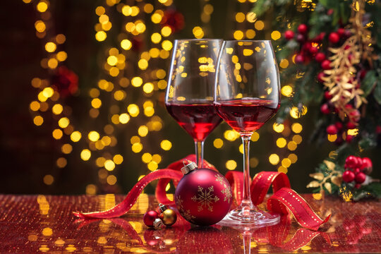 Red wine for holidays.