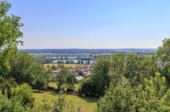 Ersinger Badeseen im Alb-Donaukreis zwischen Ulm und Ehingen