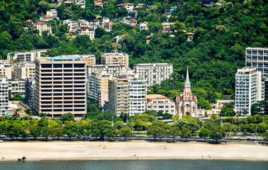 Immaculate Conception Basilica at Botafogo - Rio de Janeiro, Brazil
