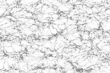 Fotobehang - White marble with dark texture background.White stone texture.