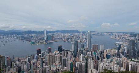 Wall Mural - Hong Kong city skyline