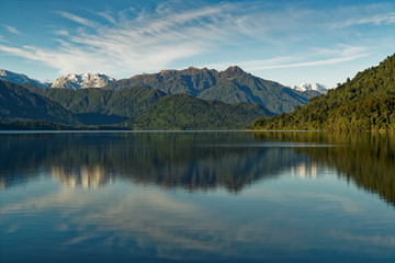 Lake Kaniere, Hokitika, West Coast, New Zealand.
