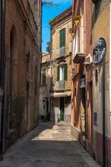 Stare miasteczko na południu Włoch