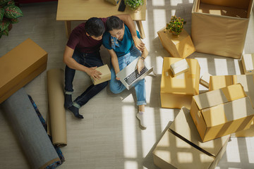 SME shopping online business owner preparing order for customers