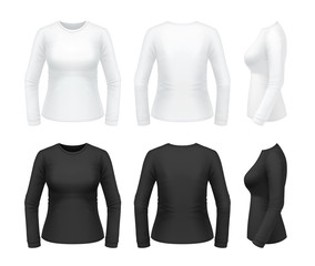 Women's longsleeve t-shirt