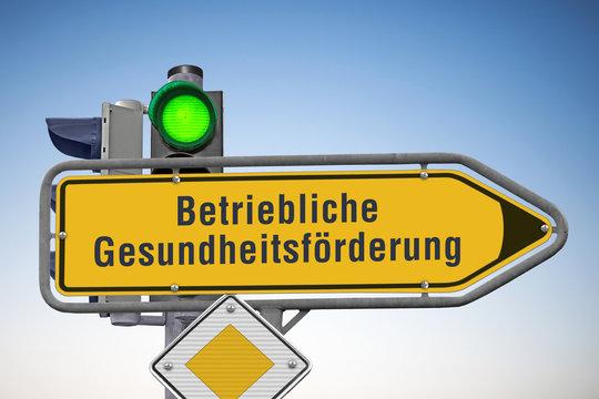 Signal auf Grün für Betriebliche Gesundheitsförderung, (Symbolbild)