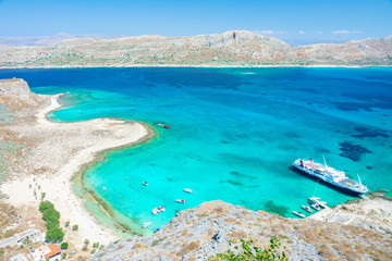 Gramvousa Insel auf Kreta