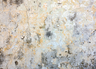 Fotobehang Oude vuile getextureerde muur Vintage background, antique grunge backdrop or scratched texture with different color patterns
