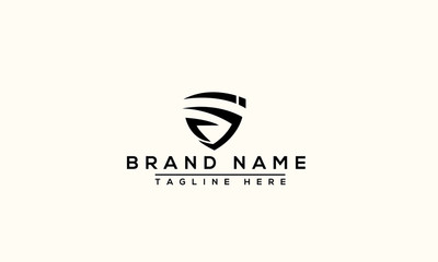 SI Logo Design Template Vector Graphic Branding Element.
