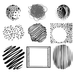 set of roundy dots and lines