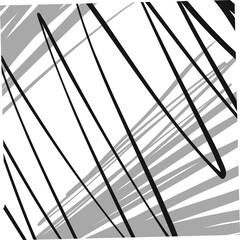 abstract wavy lines compostition