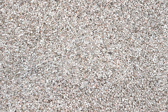 Seamless white and pink gravel texture. Repeatable pattern, seams free, perfect as renders, rendering and architectural works. 3:2 ratio.