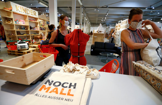 "Berlin's waste management arm BSR opened a second-hand store ""Nochmall\"