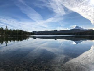 Fototapeta lake in the mountains