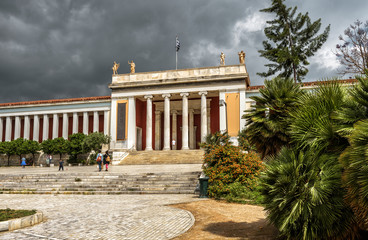 Fototapete - National Archaeological Museum of Athens, Greece