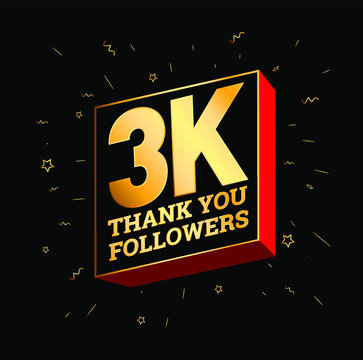 Thank You For 3K Followers Greetings.