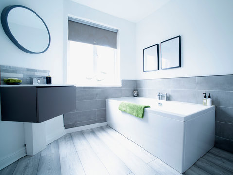 Show home with clean bright surfaces.
