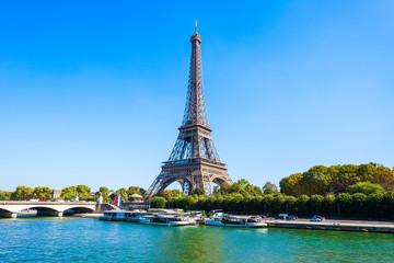 Eiffel Tower in Paris, France Fotobehang