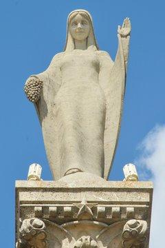 Notre Dame des Vignes à Neuville sur Seine (Aube)