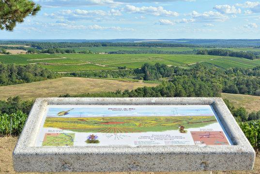 Vue panoramique, Plateau de Blu (Aube)