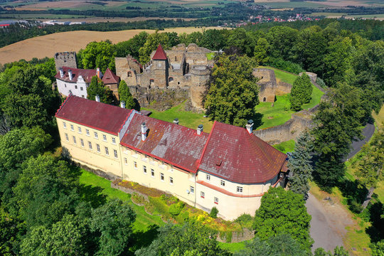 Castle Klenova, Czech republic, Europe. Klenová castle is a large castle located in southwest Bohemia near the town of Klatovy.