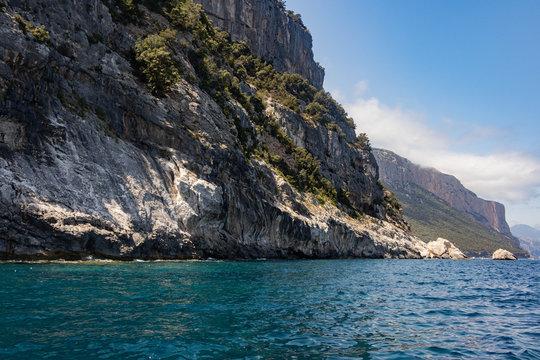 View of Coast and the Tyrrhenian Sea at Gennargentu National Park, Sardinia, Italy 4